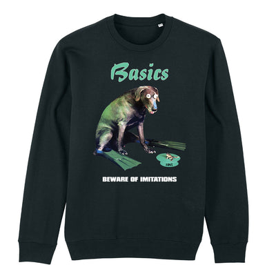 Back To Basics Beware of Imitations Unisex Iconic Sweatshirt-My Essential