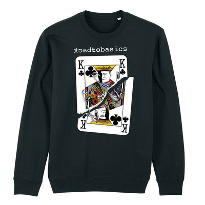 Back To Basics King Of Clubs Unisex Iconic Sweatshirt-My Essential