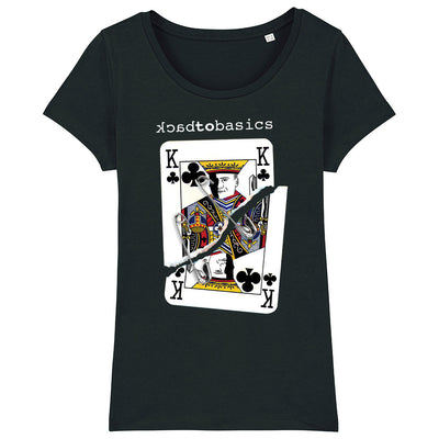 Back To Basics King Of Clubs Women's Organic T-Shirt-My Essential