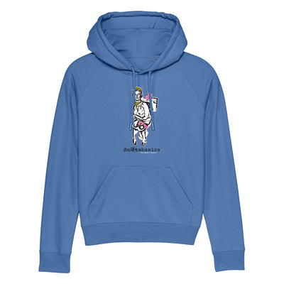 Back To Basics Queen And Cuntry Unisex Cruiser Iconic Hoodie-My Essential