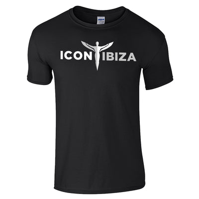 Icon Ibiza Men's Ringspun Soft Style T-Shirt Front Print-My Essential