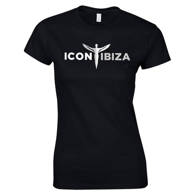 Icon Ibiza Women's Ringspun Soft Style T-Shirt Front Print-My Essential