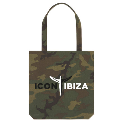 Icon Ibiza Camouflage Woven Tote Bag-My Essential