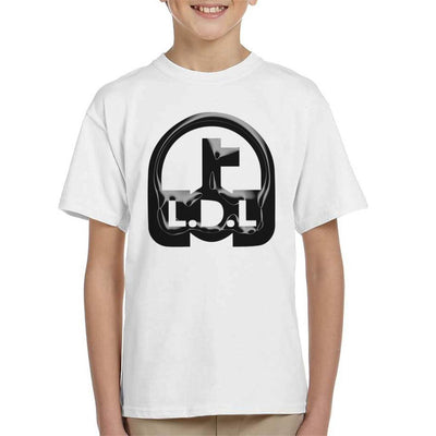 Lockdown Legends Black Logo Kid's T-Shirt-My Essential