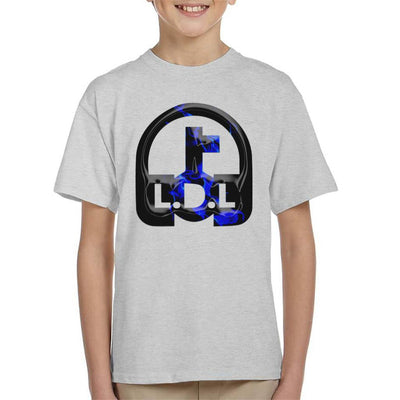 Lockdown Legends Blue Logo Kid's T-Shirt-My Essential