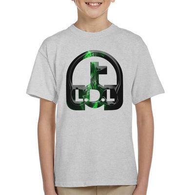 Lockdown Legends Green Logo Kid's T-Shirt-My Essential