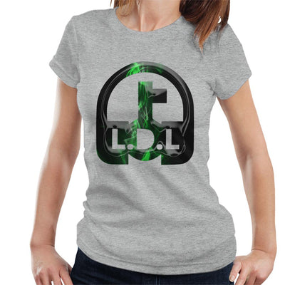 Lockdown Legends Green Logo Women's T-Shirt-My Essential