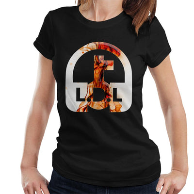 Lockdown Legends Orange Logo Women's T-Shirt-My Essential