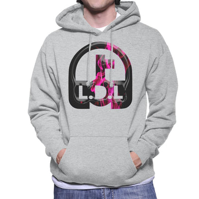 Lockdown Legends Pink Logo Men's Hooded Sweatshirt-My Essential
