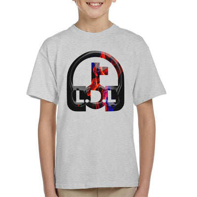 Lockdown Legends Red And Blue Logo Kid's T-Shirt-My Essential