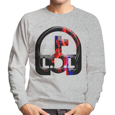 Lockdown Legends Red And Blue Logo Men's Sweatshirt-My Essential