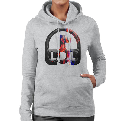 Lockdown Legends Red And Blue Logo Women's Hooded Sweatshirt-My Essential