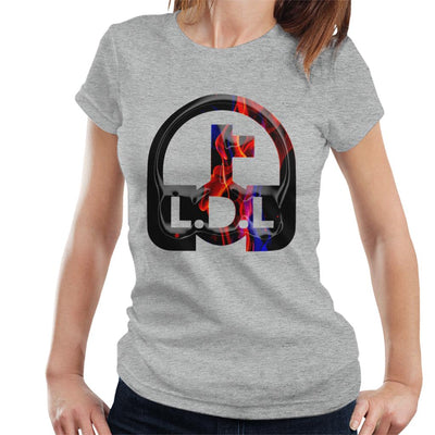 Lockdown Legends Red And Blue Logo Women's T-Shirt-My Essential
