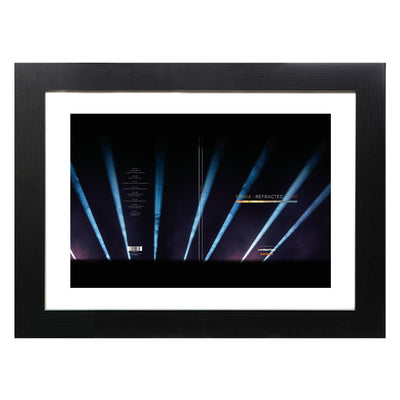 DJ Shasha Refracted Live Album Art A3 and A4 Prints (framed or unframed)-My Essential