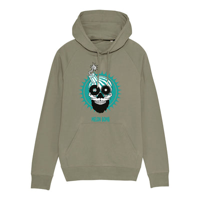 Melon Bomb Coloured Logo Men's Flyer Iconic Hoodie-My Essential