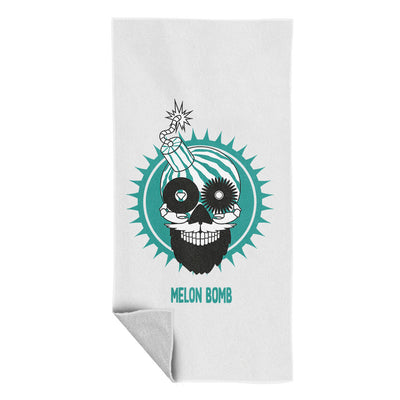 Melon Bomb Logo Beach Towel-My Essential