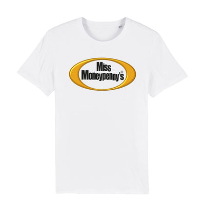 Miss Moneypenny's Gold Oval Logo Men's Organic T-Shirt-My Essential