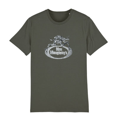 Miss Moneypenny's Silver Mermaid Logo Men's Organic T-Shirt-My Essential
