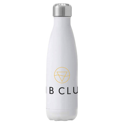 Rib Club Yellow And Black Logo Insulated Stainless Steel Water Bottle-My Essential