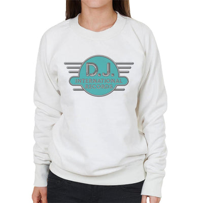 DJ International Records Cyan Logo Women's Sweatshirt-My Essential