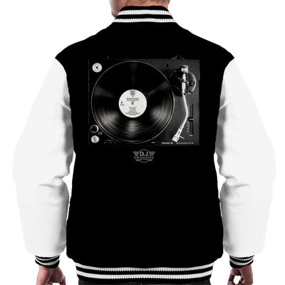 DJ International Records Turntable Men's Varsity Jacket-My Essential
