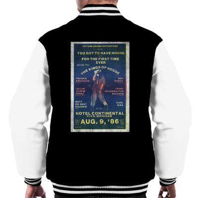 DJ International Kings Of House '86 Poster Men's Varsity Jacket-My Essential