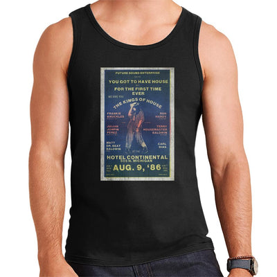 DJ International Kings Of House '86 Poster Men's Vest-My Essential