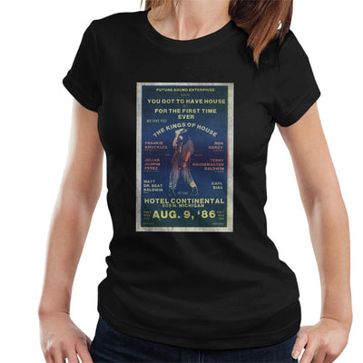 DJ International Kings Of House '86 Poster Women's T-Shirt-My Essential