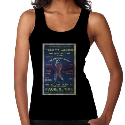 DJ International Kings Of House '86 Poster Women's Vest-My Essential