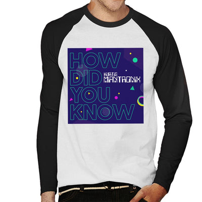 Mantronix Album How Did You Know Men's Baseball Long Sleeved T-Shirt-My Essential