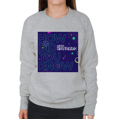 Mantronix Album How Did You Know Women's Sweatshirt-My Essential