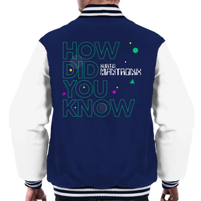 Mantronix How Did You Know Men's Varsity Jacket-My Essential
