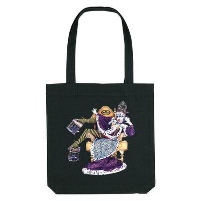 Miss Moneypenny's Clown Logo Woven Tote Bag-My Essential