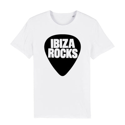 Ibiza Rocks Black Logo Men's Organic T-Shirt-My Essential