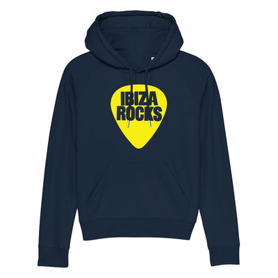 Ibiza Rocks Yellow Logo Unisex Cruiser Iconic Hoodie-My Essential