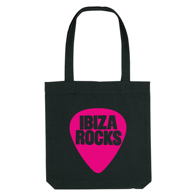 Ibiza Rocks Pink Logo Woven Tote Bag-My Essential