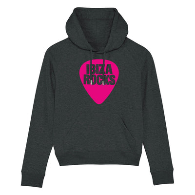 Ibiza Rocks Pink Logo Women's Trigger Iconic Hoodie-My Essential