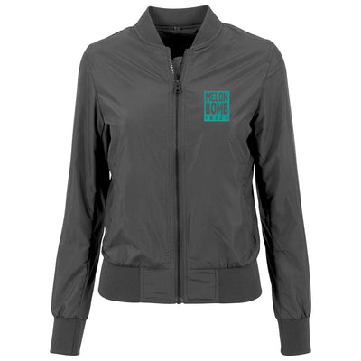 Melon Bomb Coloured Logo Women's Bomber Jacket-My Essential