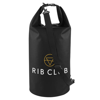 Rib Club Yellow And White Logo Waterproof Dry Tube Bag-My Essential