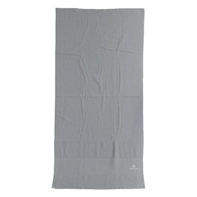 Rib Club White Embroidered Logo Cotton Bath Towel-My Essential