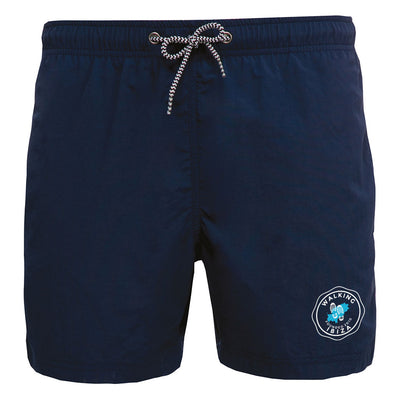 Walking Ibiza 2010 White Badge Swimming Shorts-My Essential