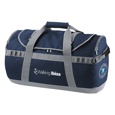 Walking Ibiza White Logo And Badge Pro Cargo Barrel Bag-My Essential