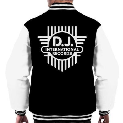 DJ International Classic Cross Logo Men's Varsity Jacket-My Essential