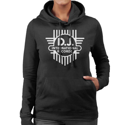 DJ International Classic Cross Logo Women's Hooded Sweatshirt-My Essential
