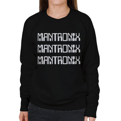 Mantronix White The Album Cover Women's Sweatshirt-My Essential