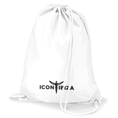 Icon Ibiza Logo Water Resistant Sports Gymsac Drawstring Day Bag-My Essential