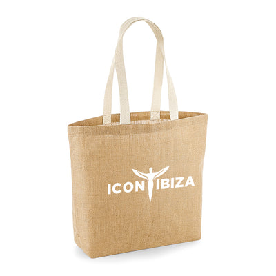 Icon Ibiza Jute Shopping Bag-My Essential