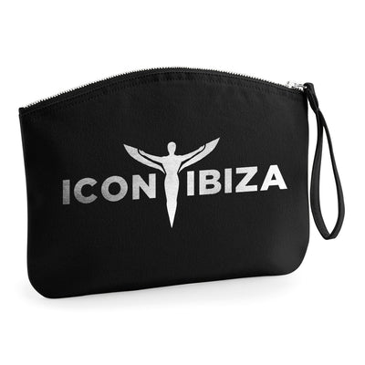 Icon Ibiza Organic Cotton Canvas Wristlet Zip Pouch-My Essential