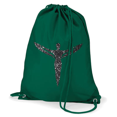Icon Ibiza Figure Water Resistant Sports Gymsac Drawstring Day Bag-My Essential
