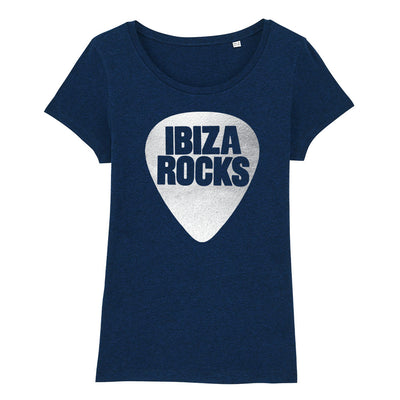 Ibiza Rocks Metallic Silver Logo Women's Organic T-Shirt-My Essential